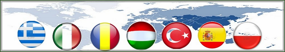 The seven countries participating in the project
